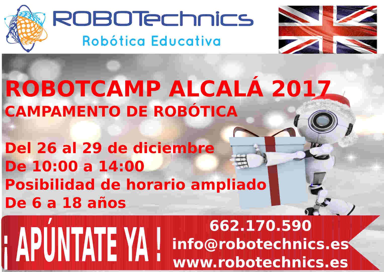 ROBOTCamp Alcalá 2017