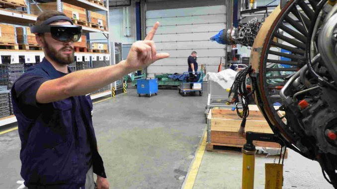 robotechnics realidad virtual MTU maintenance
