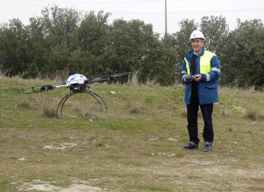 REE drones RPA robotechnics